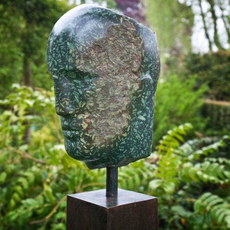 Antique Green Porphyry Head image