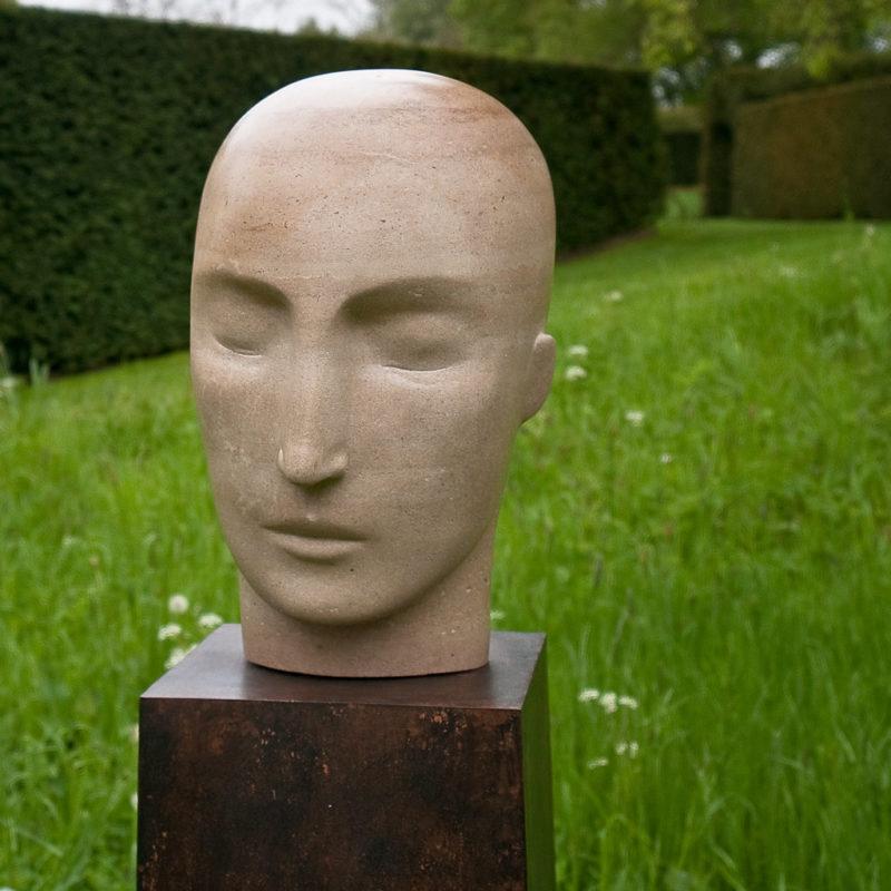 Purbeck Freestone Head II image