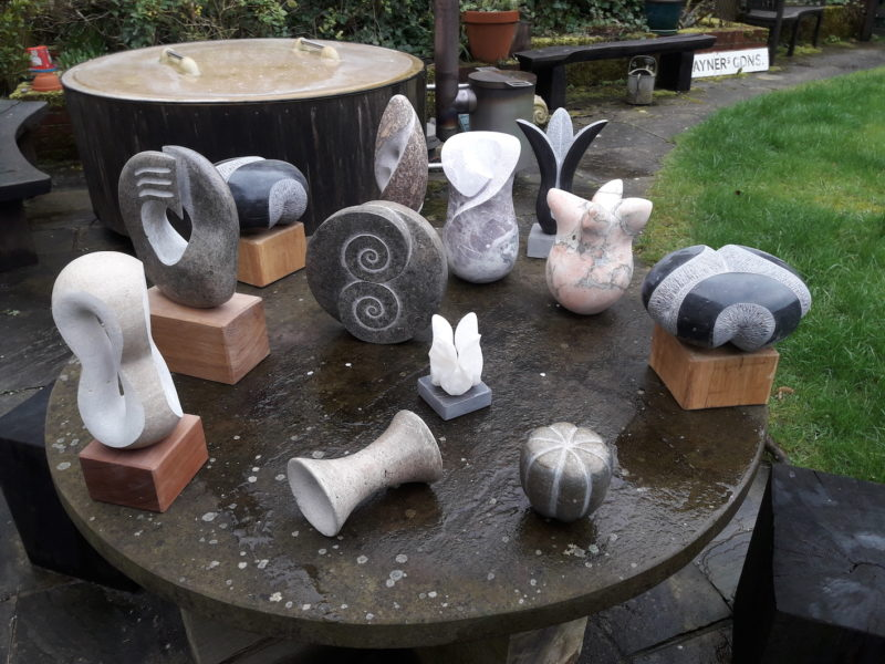 Selection of small sculptures image