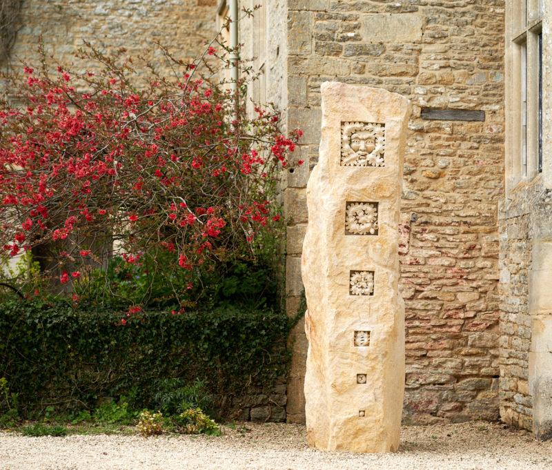 Oaken Leaf Standing Stone image