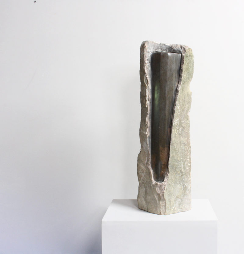 Raw block with column image
