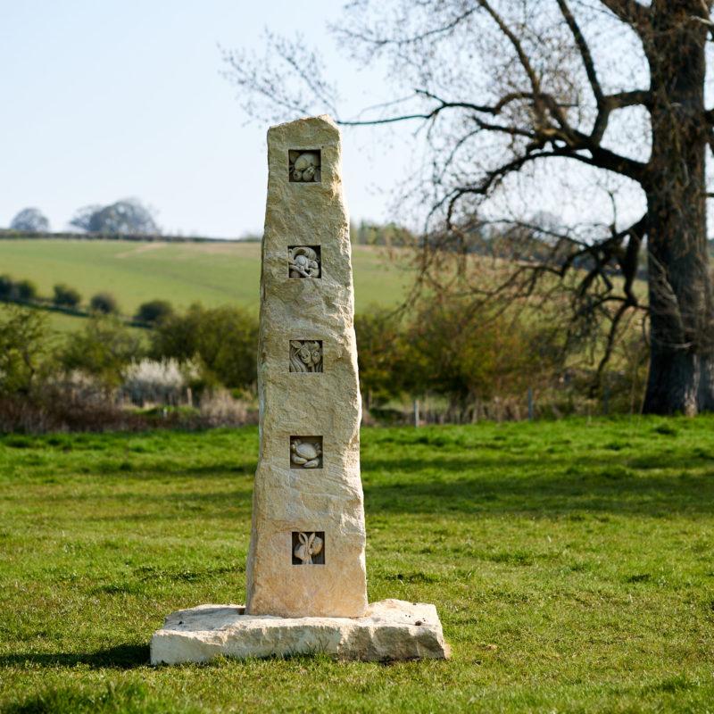 Wildlife Standing stone image